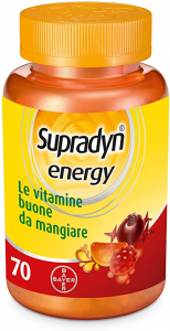 Supradyn Energy Integratore Vitaminico in 70 Caramelle Gommose