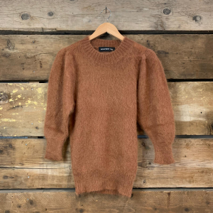 Maglione Department 5 Girocollo Judy in Lana Mohair Tabacco