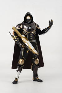 Destiny 2 Action (Figure 1/6): HUNTER SOVEREIGN GOLDEN TRACE SHADER by ThreeZero