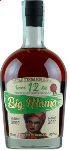 Rum Big Mama 12 Years From British Guyana CL.70