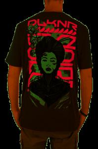 T-Shirt Dolly Noire Metal Geisha