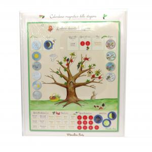 Moulin Roty calendario magnetico delle stagioni