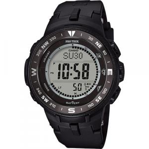 Casio Pro Trek orologio digitale multifunzione, cassa e cinturino nero