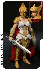 Mythic Legions - All-Stars 3: Dorina Onoris (House of the Noble Bear) Figure by Four Hourseman