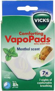 Vicks VapoPads Menthol Scent Ricariche Con Oli Essenziali