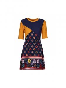 Vestito corto fantasia etnica | Vendita abbigliamento inverno 2021