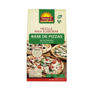 Biográ Mezcla Para Elaborar Base De Pizzas 510g Espelta