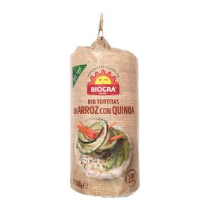 Biográ Torta De Arroz Con Quinoa 100g