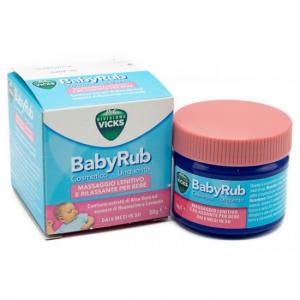 Vicks BabyRub Massaggio Lenitivo e Rilassante Bambini 50 g