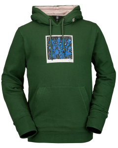 Felpa Volcom Pullover Fleece Green