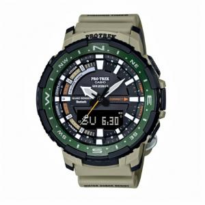 Casio Pro Trek orologio analogico - digitale uomo multifunzione grigio e verde