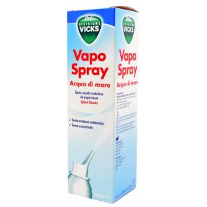 Vicks Vapo Spray Acqua di Mare Soluzione Isotonica Naso Chiuso 100 ml