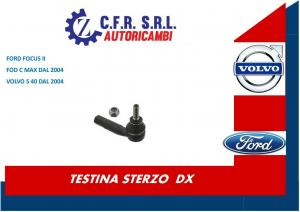 TESTINA SCATOLA GUIDA / STERZO FORD FOCUS II FORD C MAX 2004> VOLVO S 40 2004>DX