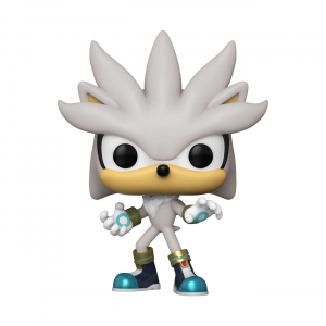 Sonic the Hedgehog POP! Vinyl Figure: SILVER THE HEDGEHOG - SONIC 30th by Funko