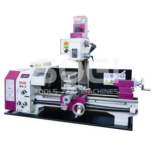 Tornio trapano fresa macchina combinata da banco SOGI MS-2 fresatrice