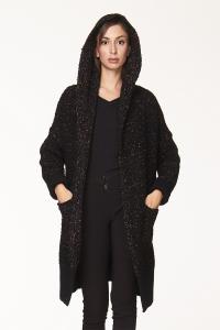 Cappotto lungo con cappuccio in vari colori | abbigliamento donna online