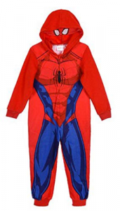 Tuta Pigiama Spiderman Bambino Mis. 3 4 6 8 Caldo Inverno 2021