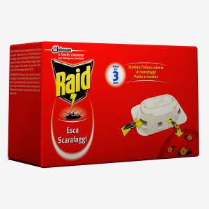 RAID Esca Scarafaggi 6 Pezzi
