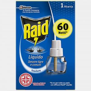 RAID Ricarica Liquida 60 notti