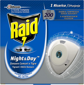 RAID Night&Day Ricarica 200 ore