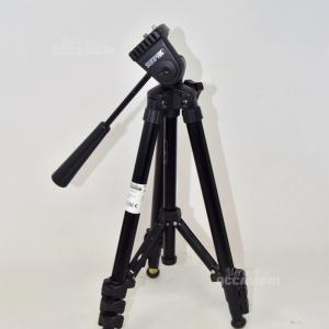 Tripod Machine Photographic Sunpak Compact Sxl Black