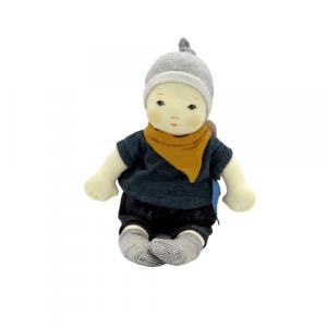 Moulin Roty bebe maschio pupazzo da vestire 33cm
