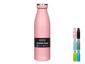 Bottiglia termica 500ml inox colorata