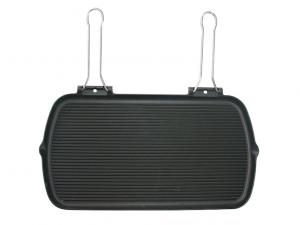 Bistecchiera ghisa rettangolare maxi induzione 27x50