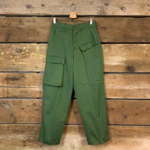 Pantalone Department 5 Cargi con Tasconi Verde Militare