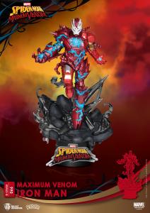 D-Stage Maximum Venon Statua: IRON MAN by Beast Kingdom