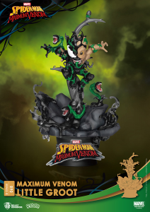 D-Stage Maximum Venon Statua: LITTLE GROOT by Beast Kingdom