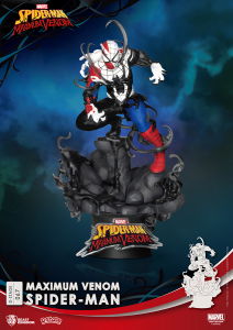 D-Stage Maximum Venon Statua: SPIDER-MAN by Beast Kingdom