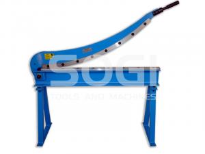 Cesoia a ghigliottina trancia lamiera SOGI CEM-1000 manuale