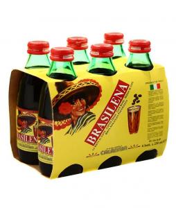 Brasilena Bibita Al Caffè 6 Bottiglie Tappo A Vite CL.25