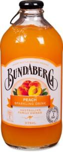 Bibita Bundaberg Peach Sparkling Drink CL.37.5