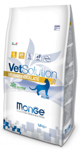 MONGE VET SOLUTION URINARY OXALATE FELINE ADULT 1,5 KG