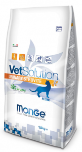 MONGE VET SOLUTION URINARY STRUVITE FELINE ADULT 1,5 KG