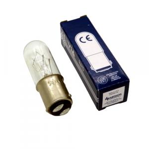 Lampada tubolare per macchine da cucire BA15 3C