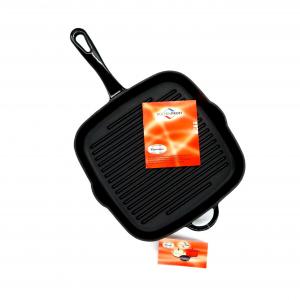Bistecchiera ghisa 26x26 induzione