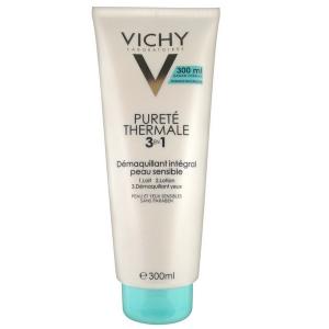 Vichy Pureté Thermale 3 En 1 Démaquillant Intégral Peau Sensible 300ml