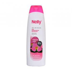 Nelly Nourishing Shower Gel Rosa Mosqueta 750ml