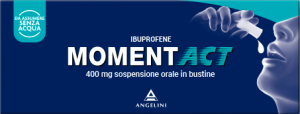 Moment Act 400 mg 8 bustine Sospensione orale -
