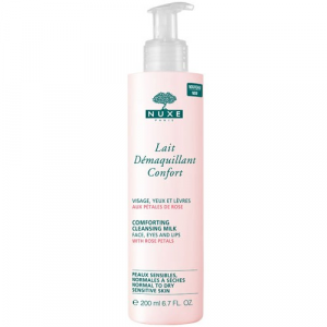 Petales De Rose Comforting Cleansing Milk With Rose Petals 200ml