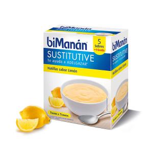 Bimanán Crema Sostitutiva Di Limone 5 Unità