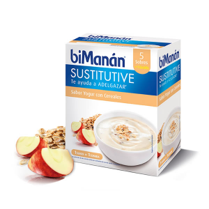 Bimanán Crema Sostitutiva Yogurt E Cereali 5 Unità