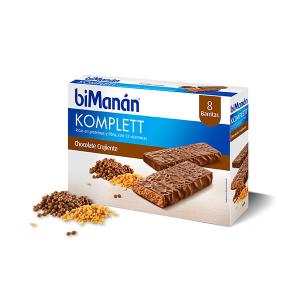 Bimanán Barrette Sostitutive Sapore Cioccolato Komplett 8 Unità
