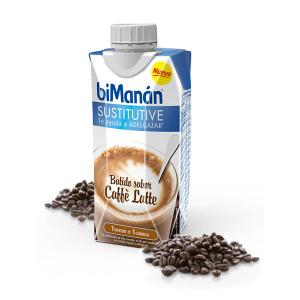 Bimanán Frullato Sostitutivo Sapore Caffè Latte 330ml