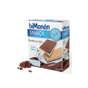 Bimanán Snack Sostitutivo Cioccolato Al Latte E Yogurt 120g