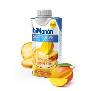 Bimanán Frullato Sostitutivo Gusto Mango E Ananas 330ml