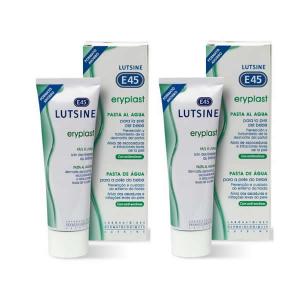 Lutsine E45 Eryplast Pasta all'acqua 2x75g